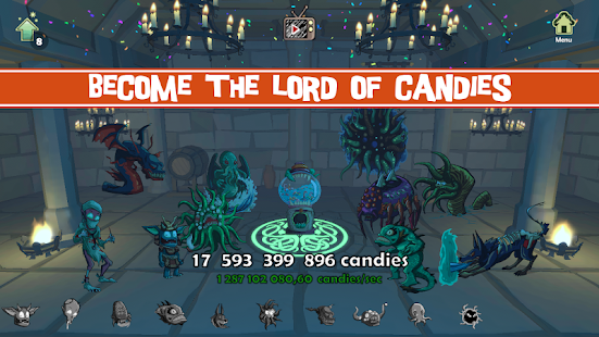 Become the lors of candies
